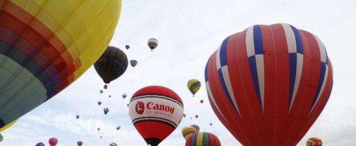 Albuquerque International Balloon Fiesta Sponsored By Canon