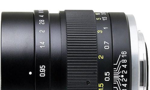 Black Friday 2017: Mitakon Zhongyi Speedmaster 35mm F/0.95 Mark II Lens For EOS M At $479 (reg. $599)