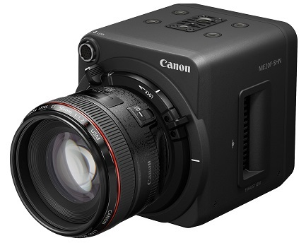 Canon Announce New Low-light Network Camera, The ME20F-SHN