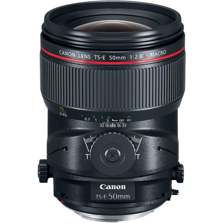 Canon TS-E 50mm F/2.8L