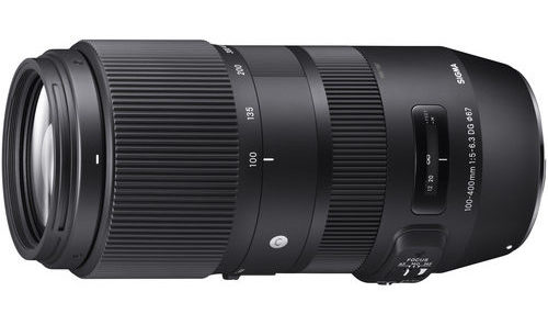 Sigma 100-400mm F/5-6.3 DG OS HSM Contemporary Lens Deal – $699 ($100 Off, Free Filter And Docking Station)