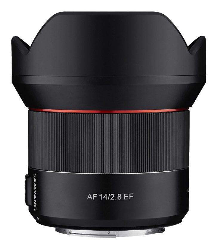 Here Is The Samyang AF 14mm F/2.8 For Canon Mount