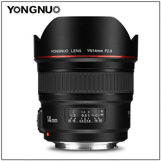 Yongnuo Announces YN 14mm F/2.8 Lens For Canon Mount