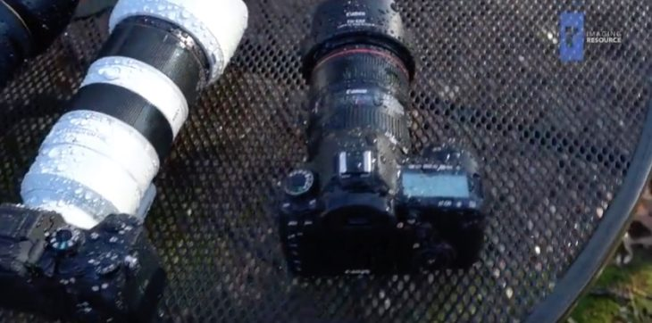 Weather Sealing Torture Test: Canon EOS 5D Mark IV Does Great, Sony A7R III Not So Much