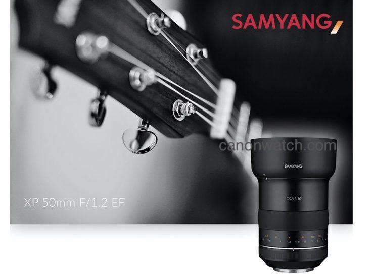 Samyang XP 50mm F/1.2