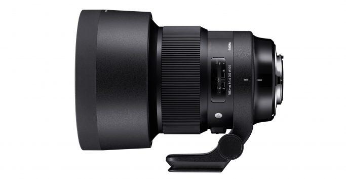 Sigma 105mm F/1.4