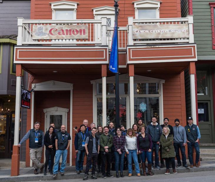 Canon Invites Filmmakers To The Canon Creative Studio As A Sponsor Of Sundance Film Festival 2018