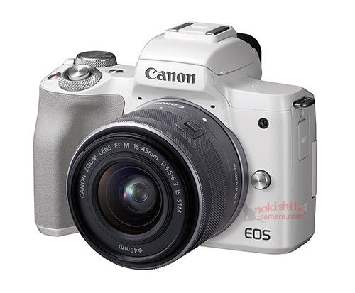More Canon EOS M50 Images, And More Detailed Specifications (4K/25p, Eye-tracking AF)