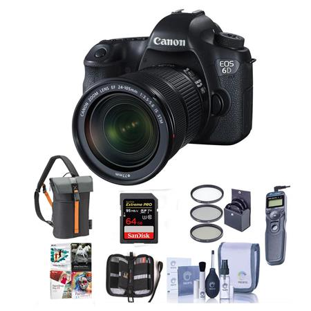 Canon EOS 6D Bundle Deals Starting At $999 (includes Memory Card, Remote Shutter, More Stuff)