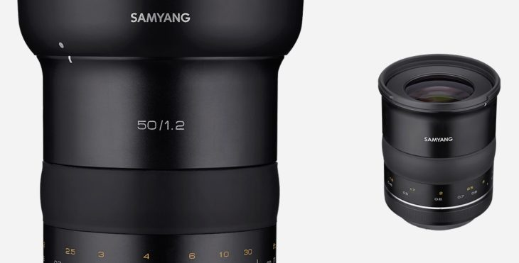 Here Is The Samyang XP 50mm F/1.2, Officially Announced