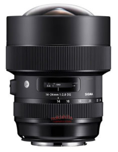 Sigma 14-24mm F/2.8