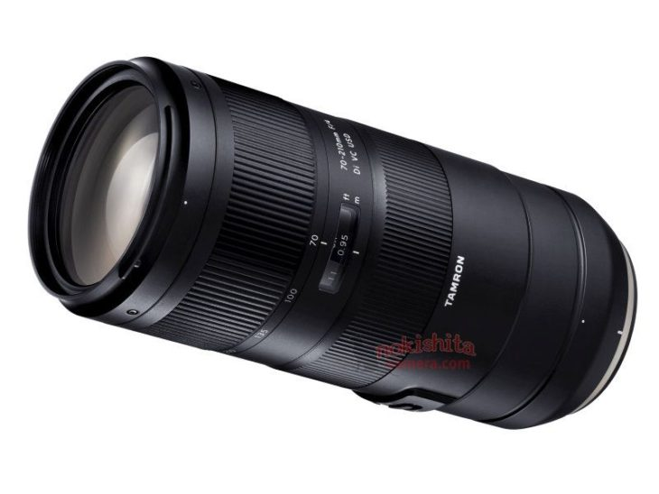 This Is The Upcoming Tamron 70-210mm F/4 Di VC USD, Images Leaked