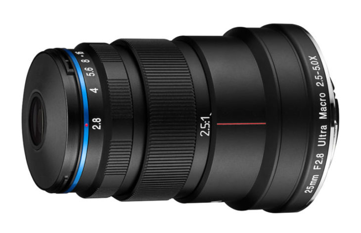 Venus Optics Announces LAOWA 25mm F2.8 2.5-5X ULTRA MACRO Lens