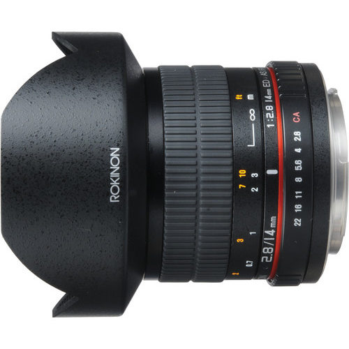 Deal. Rokinon 14mm F/2.8 IF ED UMC Lens – $249 (reg. $339)