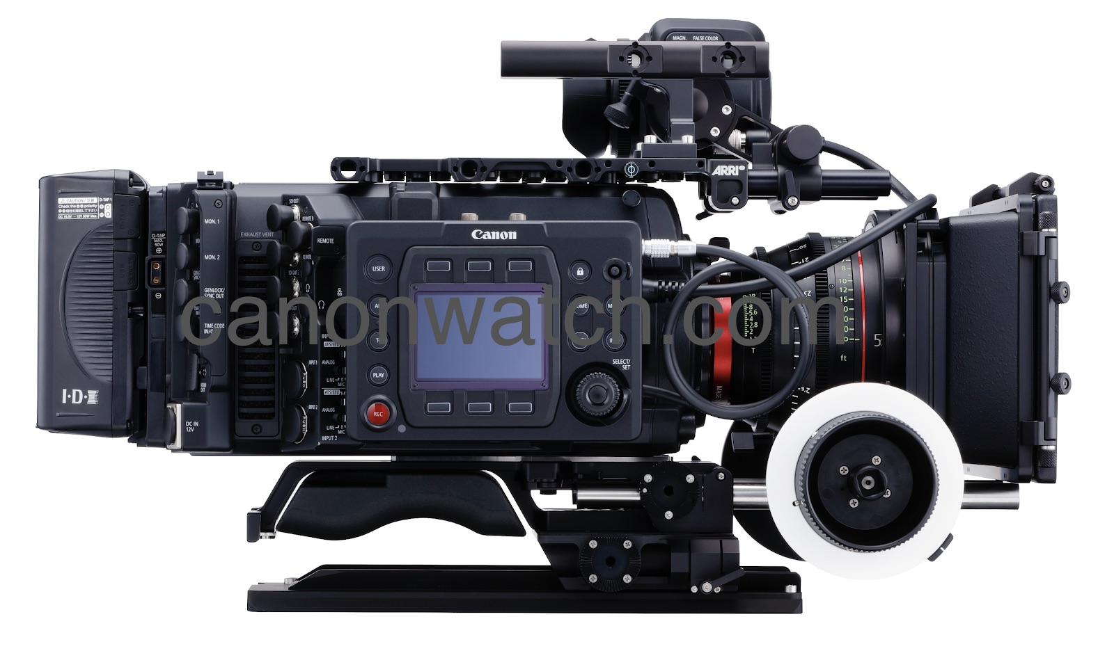 This is the upcoming EOS C700 full frame Cinema camera