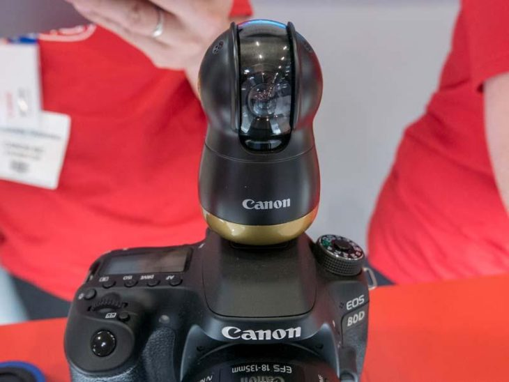 Some More Bits About Canon's Concept Cameras On Display At The Photography Show 2018