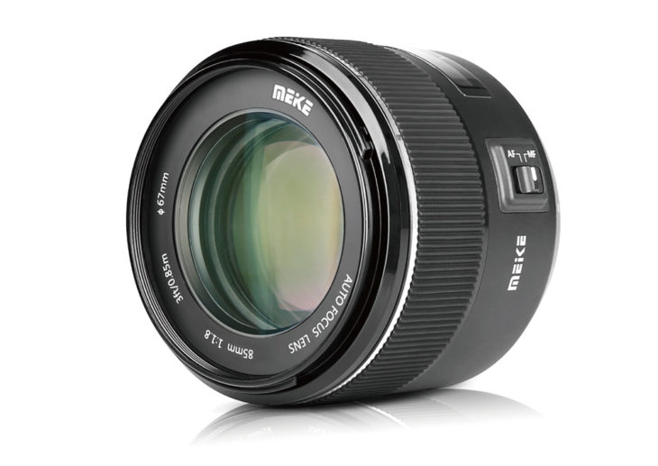 Meike Announced Their First AF Lens For Canon EF Mount, MK-85mm F/1.8