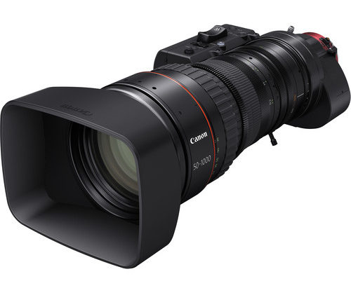 The History Of Canon's CINE-SERVO 50-1000mm T5.0-8.9 Lens (video)