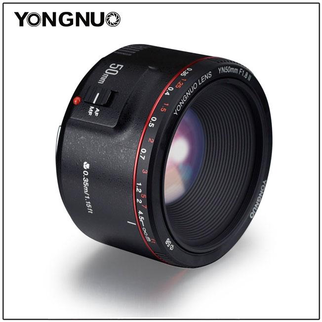 New Yongnuo YN50mm F1.8 II Lens Announced