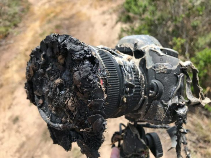 This Is What Happens To Your Camera If You Get Too Close To A Rocket Launch Pad