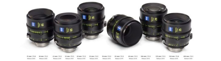 ZEISS Supreme Primes Announced, A New High-end Cinema Lens Line-up