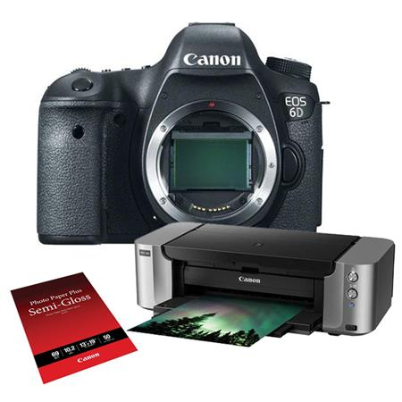 Deal: Canon EOS 6D Bundle With Photo Printer, Tascam Audio Recorder, More – $999
