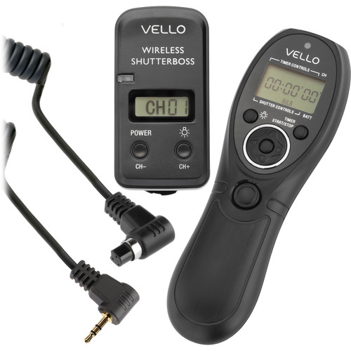Deal: Vello Wireless ShutterBoss III Remote Switch With Digital Timer – $49.50 (reg. $99.50)