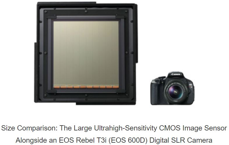Canon Explores Large Image Sensors For Academic And Industrial Application