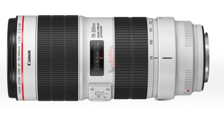 Canon EF 70-200mm F2.8L IS III Lens