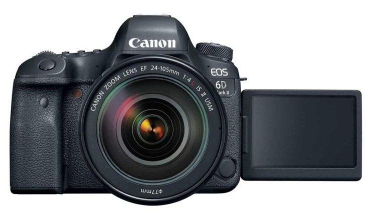 Save On Canon EOS 6D Mark II Bundles (Pro-100 Printer, Battery Grip, Microphone, Paper), Starting $1599
