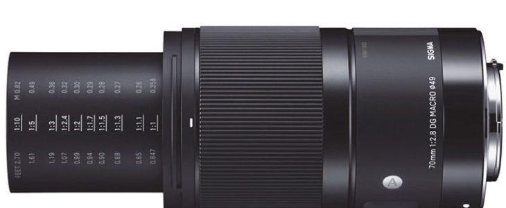 Sigma 70mm F/2.8 DG Macro
