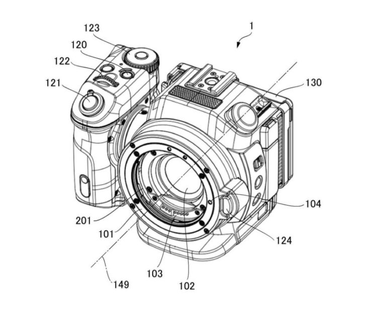 Canon Working On XC Series Camcorder With Interchangeable Lens Mount, Patent Suggests