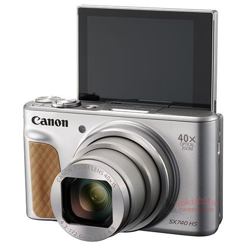 Canon PowerShot SX740 HS Images And More Detailed Specifications