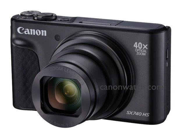 Canon PowerShot SX740 HS Technical Specification Brochure Leaks