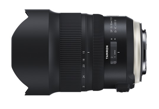 Tamron SP 15-30mm F/2.8 Di VC USD G2 Images And Product Brochure