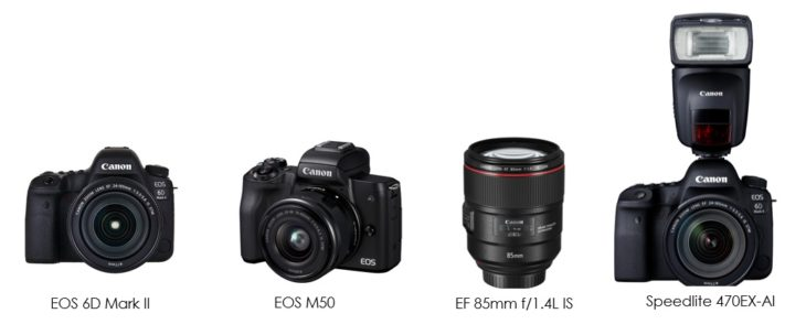 Canon Gets 4 EISA Awards For EOS 6D Mark II, EOS M50, EF 85mm F/1.4, And Speedlite 470EX-AI