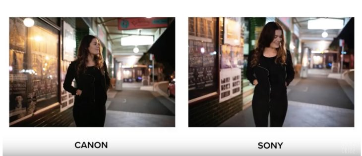 Canon EOS 5D Mark IV Vs Sony A7 III Low Light Portrait Comparison