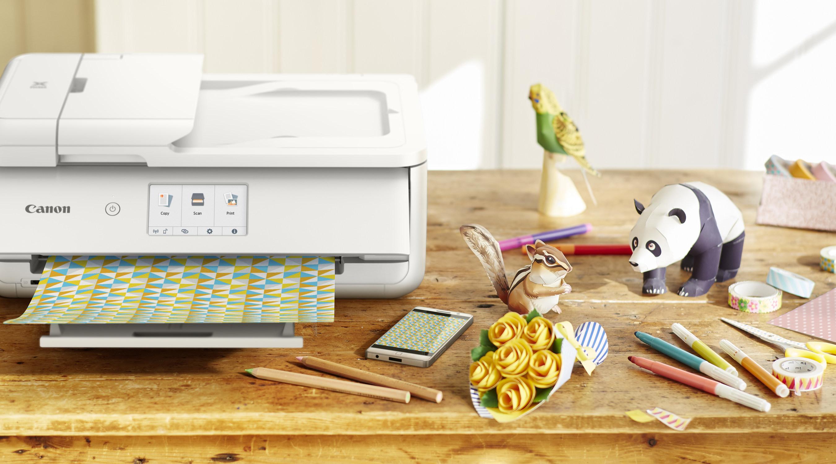 Canon U.S.A. Unveils PIXMA TS9521C Printer, Providing Endless Ways To Express Your Creativity
