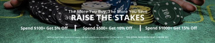 Buy More Save More At KEH (up To 15%)