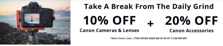 Save 10% On Canon Cameras And Lenses And 20% On Canon Accessories At KEH