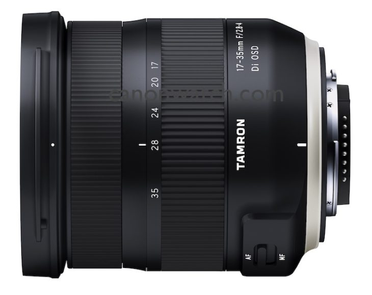 Tamron Will Soon Announce A New 17-35mm F/2.8-4 Di OSD Lens, Here Are Some Images