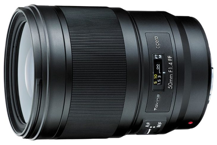The Tokina Opera 50mm F/1.4 For FF DSLR Will Sell At $1100 (approximately)