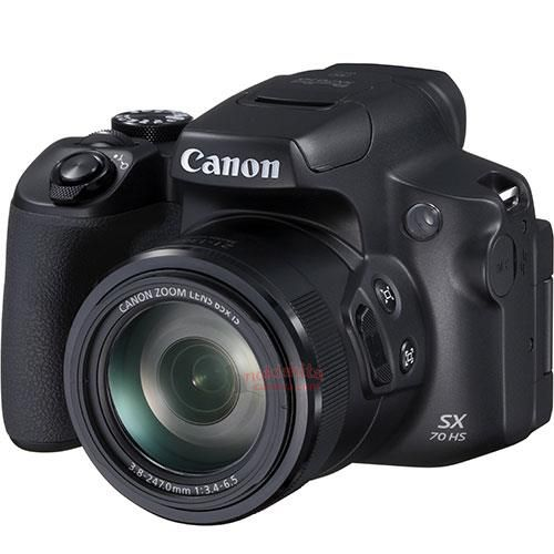 This Is The Canon PowerShot SX70 HS, Images And Basic Specifictions
