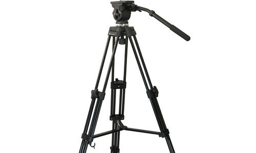 E-Image EK50AAM Fluid Drag Video Head And Tripod