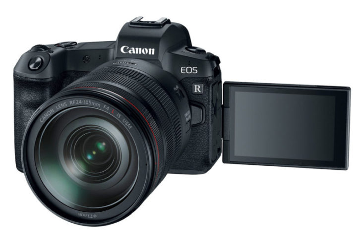 Canon EOS R High Resolution Camera Undergoing Field Testing [CW3]