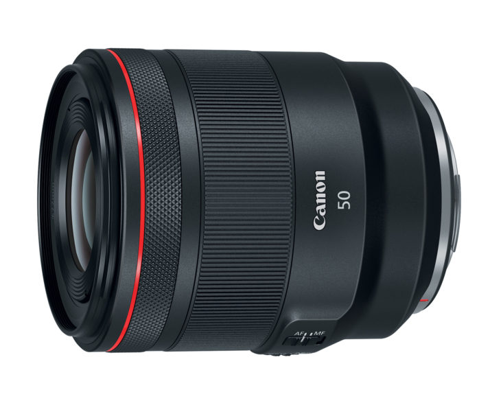 Canon RF 50mm F/1.2L In Stock And Ready To Ship (at $2299)