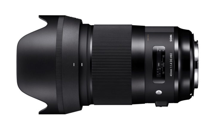 Deal: Sigma 40mm F/1.4 DG HSM Art Lens – $999 (reg. $1399, Today Only)