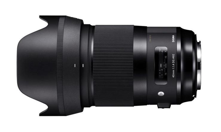 Sigma 40mm F/1.4 DG HSM Art