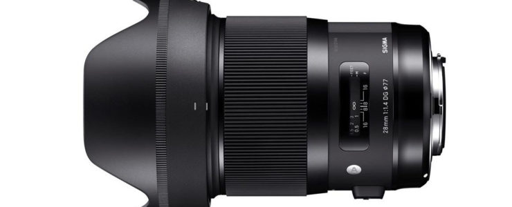 Sigma 28mm F/1.4 Art Deal