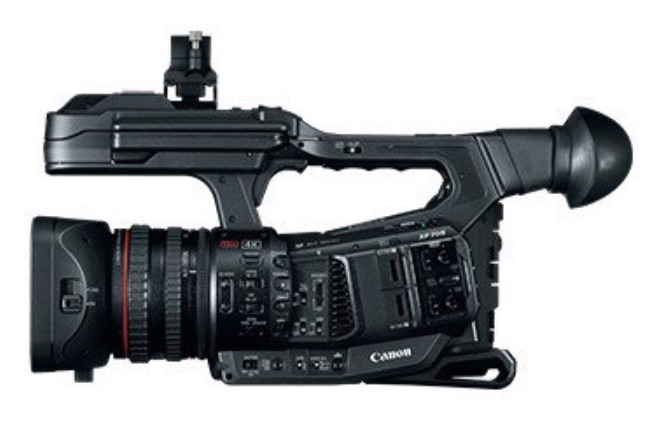 This Is An Image Of The Canon XF 705, To Be Announced Soon